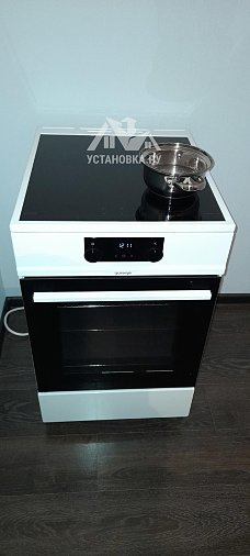 Установить отдельно стоящую стиральную машину LG