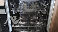 Установить встраиваемую посудомоечную машину Bosch SMV 25FX01 R
