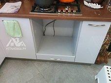 Демонтировать газовый духовой шкаф Korting