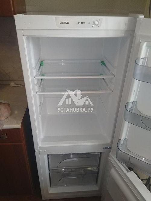 Установить отдельностоящий холодильник Атлант