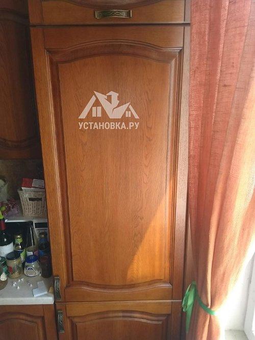Установить встроенный холодильник