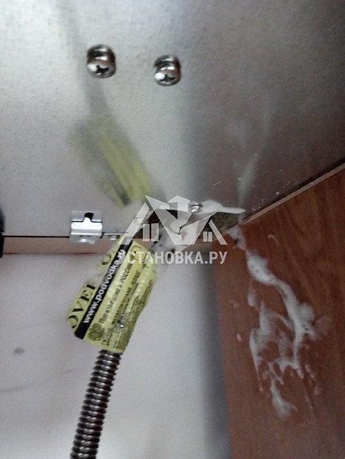 Установка электрического духового шкафа и варочной газовой панели в кухонный гарнитур, установка встроенной посудомоечной машины и встроенной вытяжки на кухне