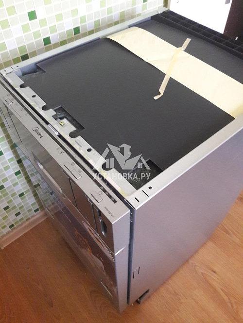 Установить посудомоечную машину встраиваемую