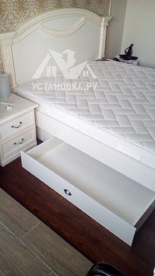 Собрать двуспальную кровать Лючия Шатура