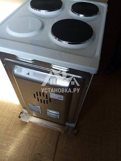 Демонтировать и установить электрическую плиту Горенье