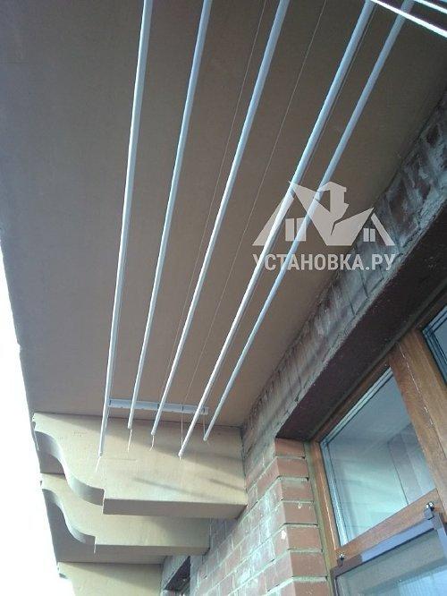 Установить потолочную сушилку Лиана на балкон