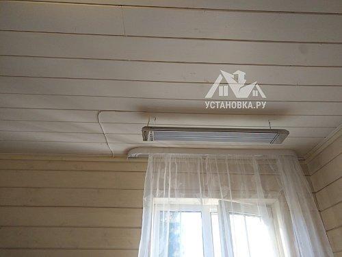 Монтаж тепловой завесы