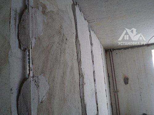 Оштукатурить стены
