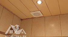 Монтаж вытяжного вентилятора зависимого питания