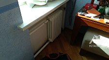 Стандартный монтаж биметаллического радиатора