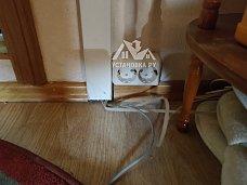 Проложить кабель в кабель канале, который уже установлен