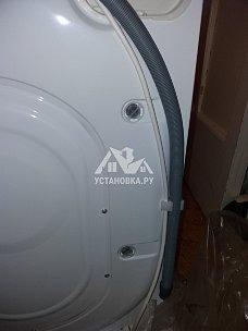 Установить новую стиральную машину Indesit отдельно стоящую в ванной