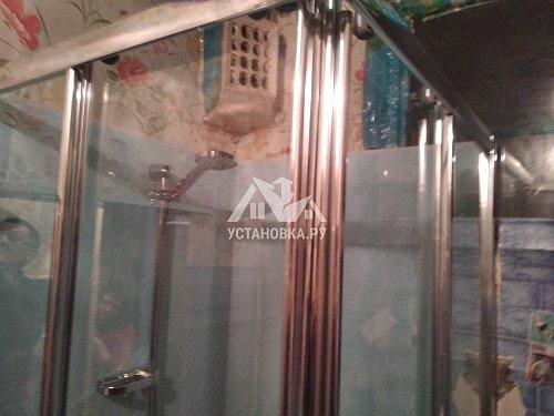 Заменить чугунную ванну на душевую кабину
