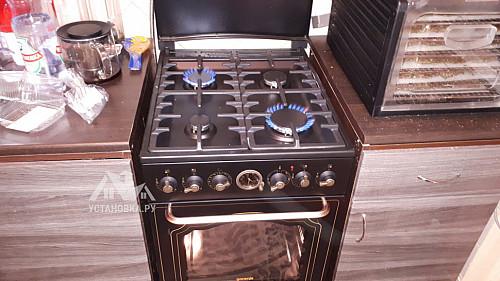 Подключить плиту комбинированную