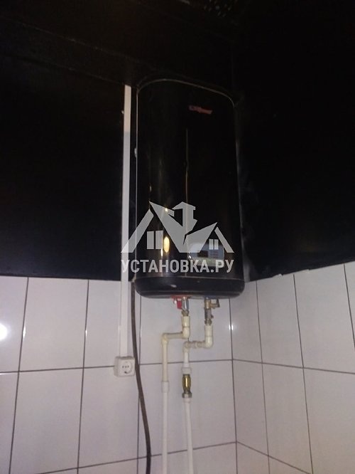 Установить в кафе новый накопительный водонагреватель на 80л