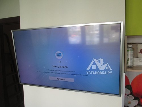 Навесить телевизор Samsung UE40MU6400UXRU