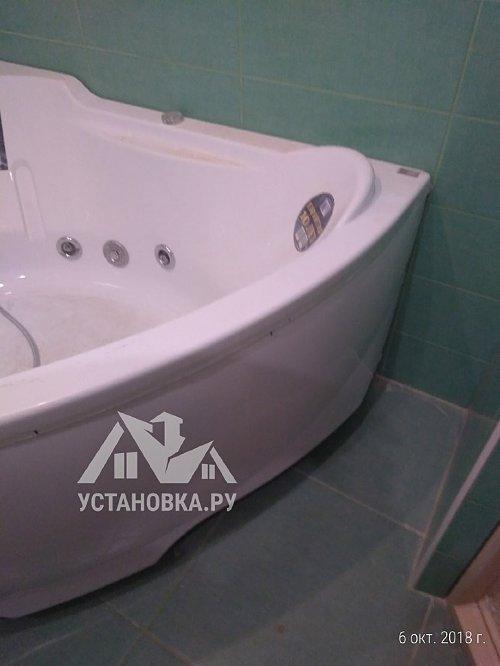 Передвинуть ванну акриловую