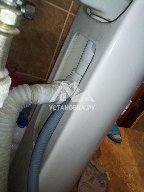 Установить отдельностоящую стиральную машину Индезит