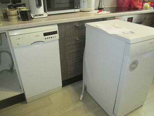 Установить посудомоечную машину Bosch под столешницу