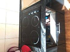 Установить варочную панель электрическую Zanussi ZEV56140NB