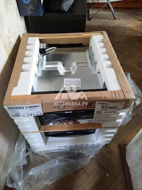 Установить новый электрический духовой шкаф Hansa