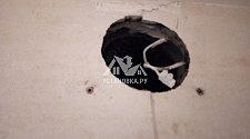 Демонтировать и установить новый вытяжной вентилятор