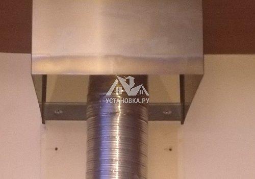 Установить новую каминную вытяжку Cata S-900 INOX /D