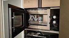 Установка бытовой техники в новую кухню