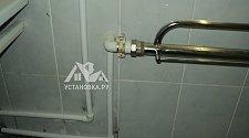 Заменить металлическую подводку к полотенцесушителю на полипропилен