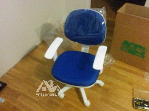 Собрать компьютерное кресло Бюрократ CH-W356AXSN 1510