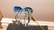 Проложить интернет кабель над подвесным потолком