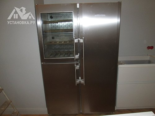 Установить холодильник Liebherr SBS 7165