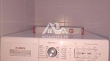 Установить сушильную машину Bosch WTY87781OE в колонну