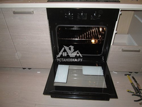 Установить духовой шкаф Simfer B6EB16011