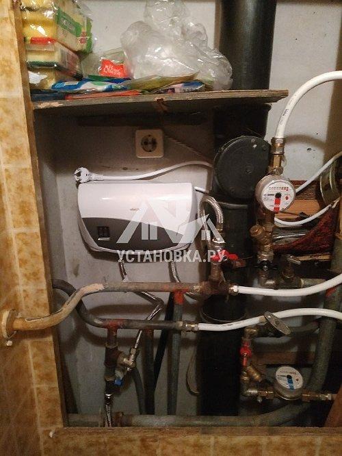Установить проточный водонагреватель в районе Дмитровской