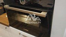 Установить новый электрический духовой шкаф Bosch CMG633BB1