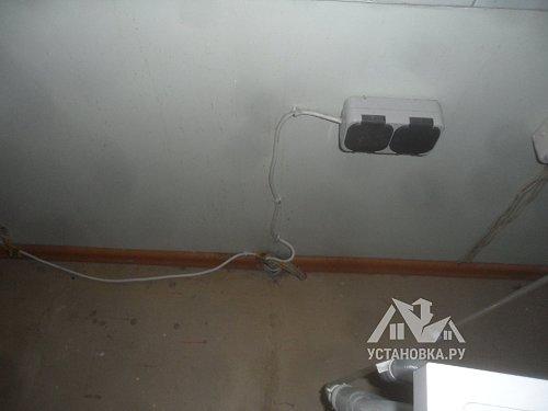 Проложить интернет кабель