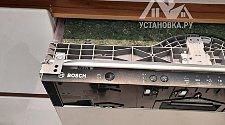 Установить новую встраиваемую посудомоечную машину Bosch