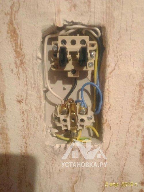 Монтаж кабеля сечением до 2.5мм на скобах