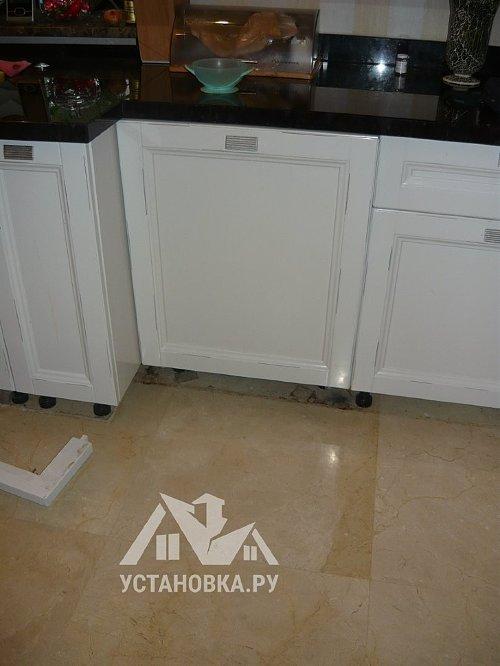 Установить встраиваемую посудомоечную машину Siemens SN 658X01 ME