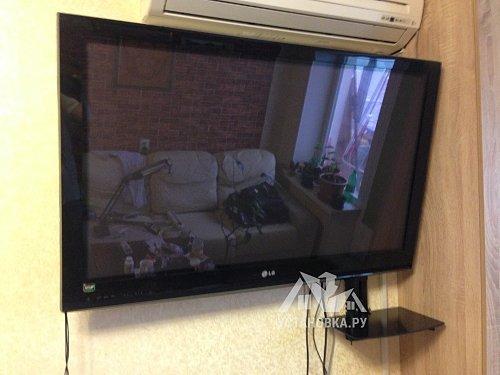 Навесить телевизор LG диагональю 42