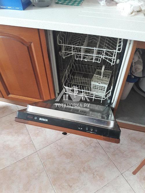 Установить встраиваемую посудомоечную машину Bosch