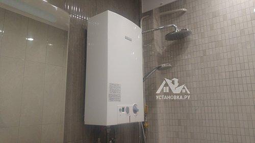 Проконсультировать по прокладке воздуховода для газовой колонки