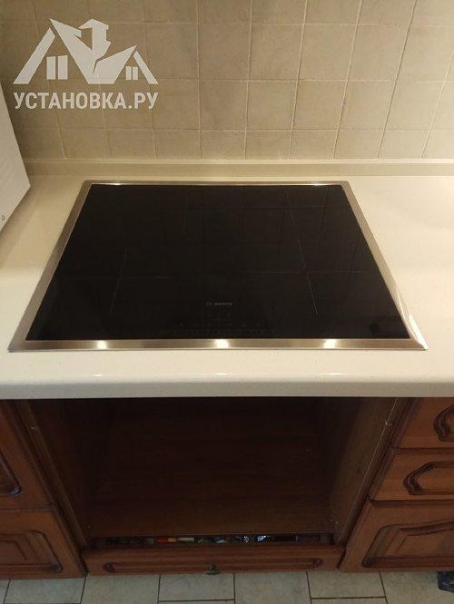 Установить электрическую варочную панель электрический духовой шкаф