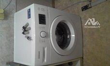 Поставить стиральную машину на готовые коммуникации