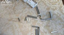 Монтаж двух трубных карнизов длинной более 1.6 м.п.