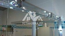 Установить душевую шторку BelBagno Uno VF 2 170/145 C Cr - UNO-VF-2-170/145-C-Cr