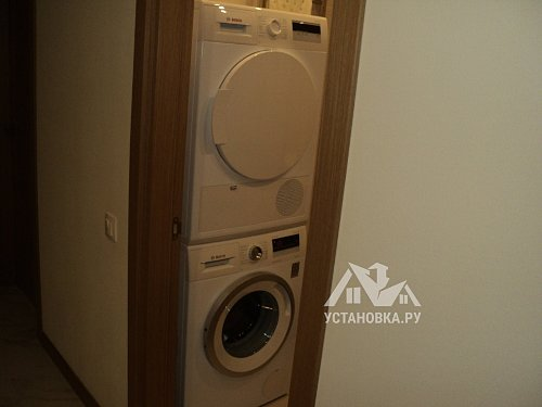 Установить отдельностоящую стиральную машину Bosch WAN 28290 OE