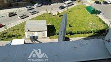 Демонтировать спутниковую тарелку Триколор с окна