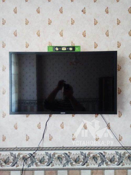 Собрать кресло и настроить телевизор